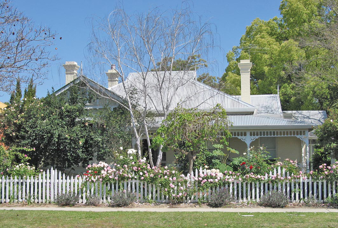 Durack house from the road